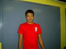 Kazuya SUWABE lors d'un entraînement à AIX