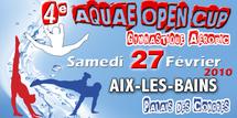 4ème AQUAE OPEN CUP à AIX LES BAINS