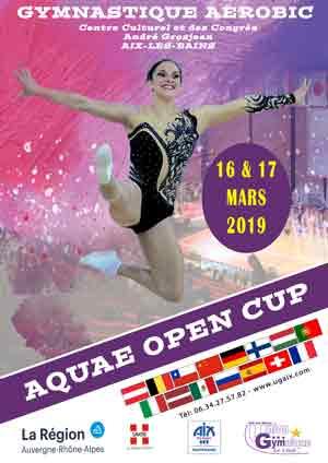 Affiche officielle AQUAE 2019