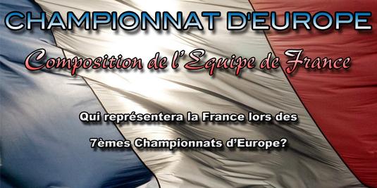 Championnat d'Europe 2011 - Bucarest du 9 au 13 novembre