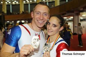 Aurélie et Julien - CHAMPION D'EUROPE 2011 !!!