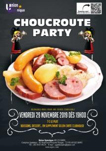 Choucroute Party - Vendredi 27 Novembre 2020