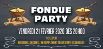 Fondue Party - Vendredi 21 Février 2020