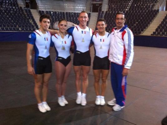 """Coupe du Monde - Liberec (CZE) 13,14 Octobre 2012 """"Deux médailles d'Or et deux médailles d'Argent"""""""