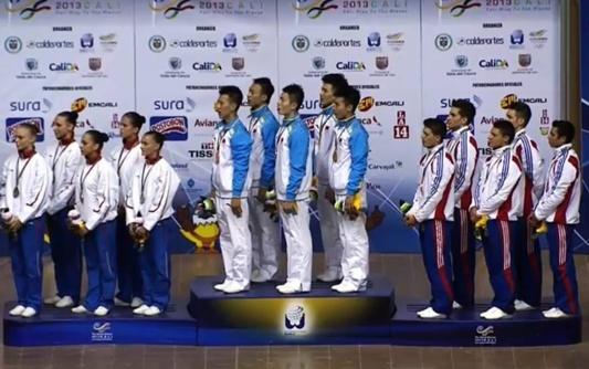 le bronze pour le groupe!