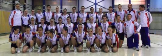 Aérobic - Championnat de France à CHAMBERY