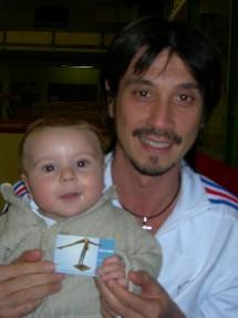 MATTEO & Son Parrain Christophe