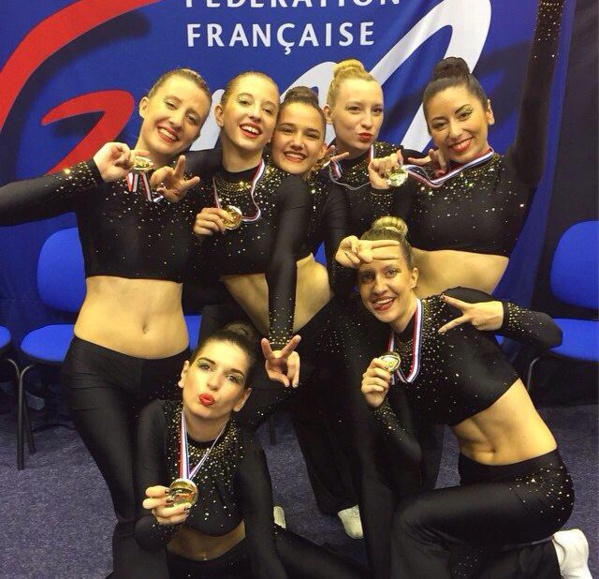 CHAMPIONNAT DE France GYMNASTIQUE AEROBIC