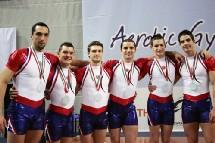 Groupe de 6 Médaille d'Argent