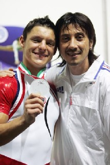 Coach Christophe et Benjamin en Argent