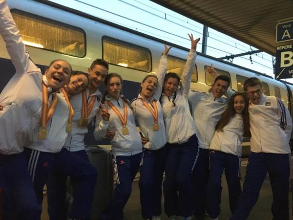 CHAMPIONS DU MONDE EN GROUPE ! TOM JOURDAN EN BRONZE!