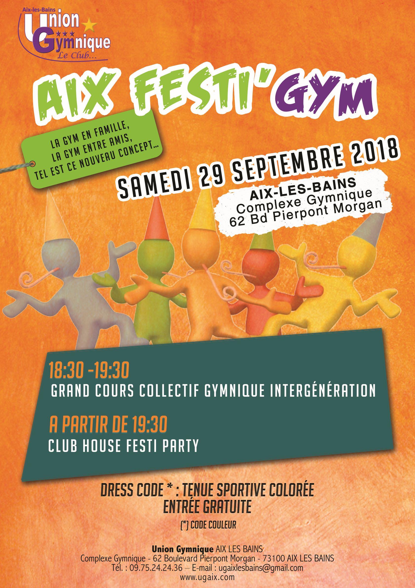AIX Festi'Gym