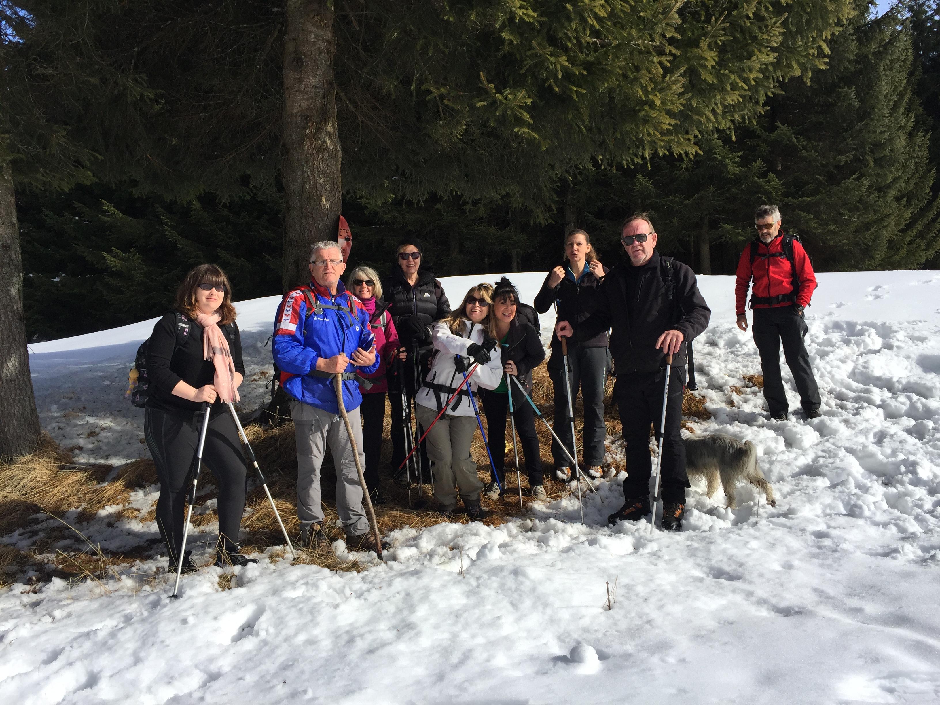Sortie Rando  Lac et Alpages du Mariet