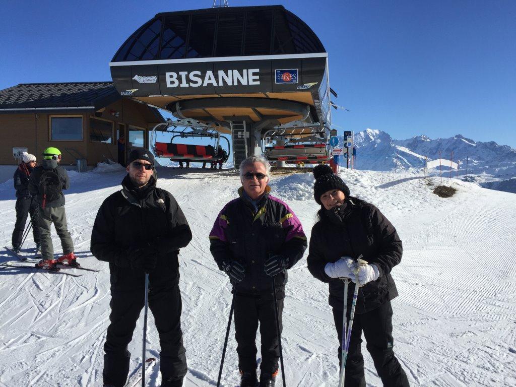 Sortie Ski aux Saisies