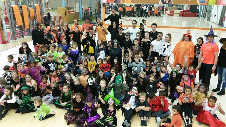 HALLOWEEN PARTY à l'UNION GYMNIQUE !