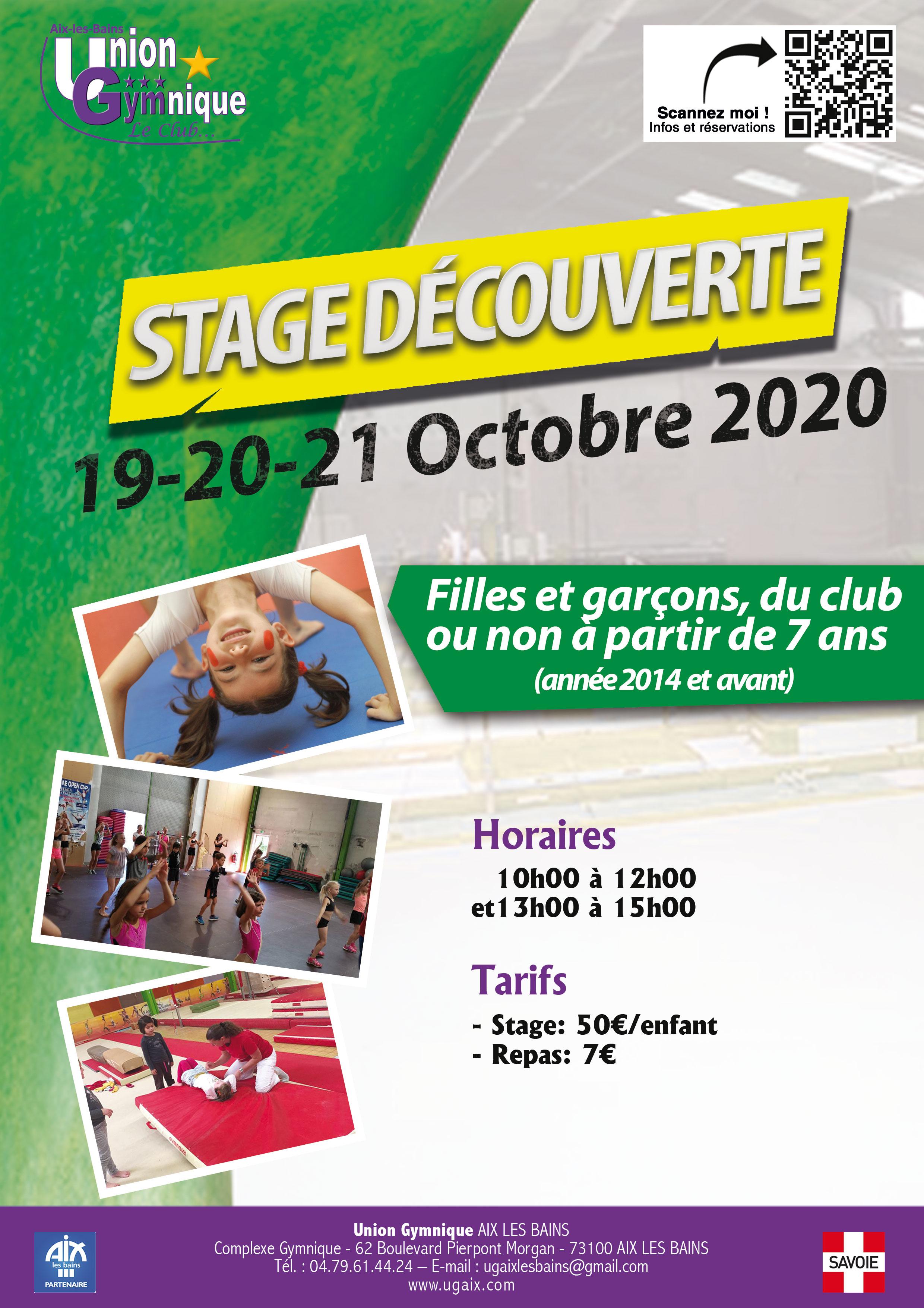 Stage Gym Découverte - 24 au 26 Février 2020