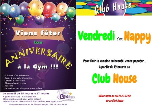 Anniversaire + Club House
