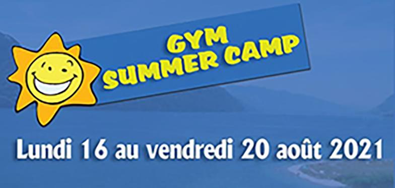 Stage Gym Summer camp Août 2021