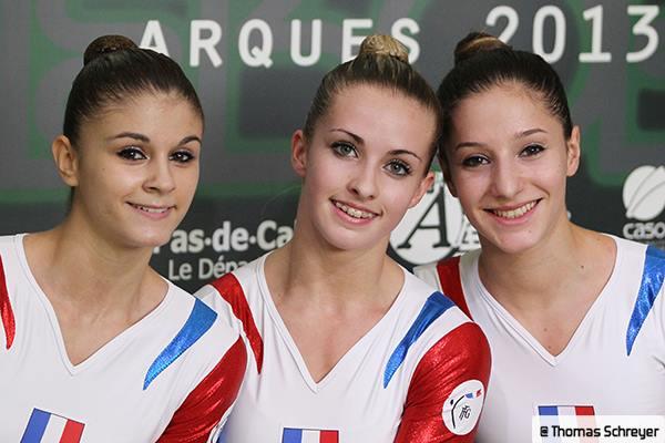 Aérobic - Championnat d'Europe 2013 à ARQUES (FRA)