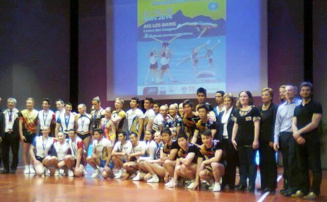 les finalistes de l'AQUAE WORLD CUP 2014