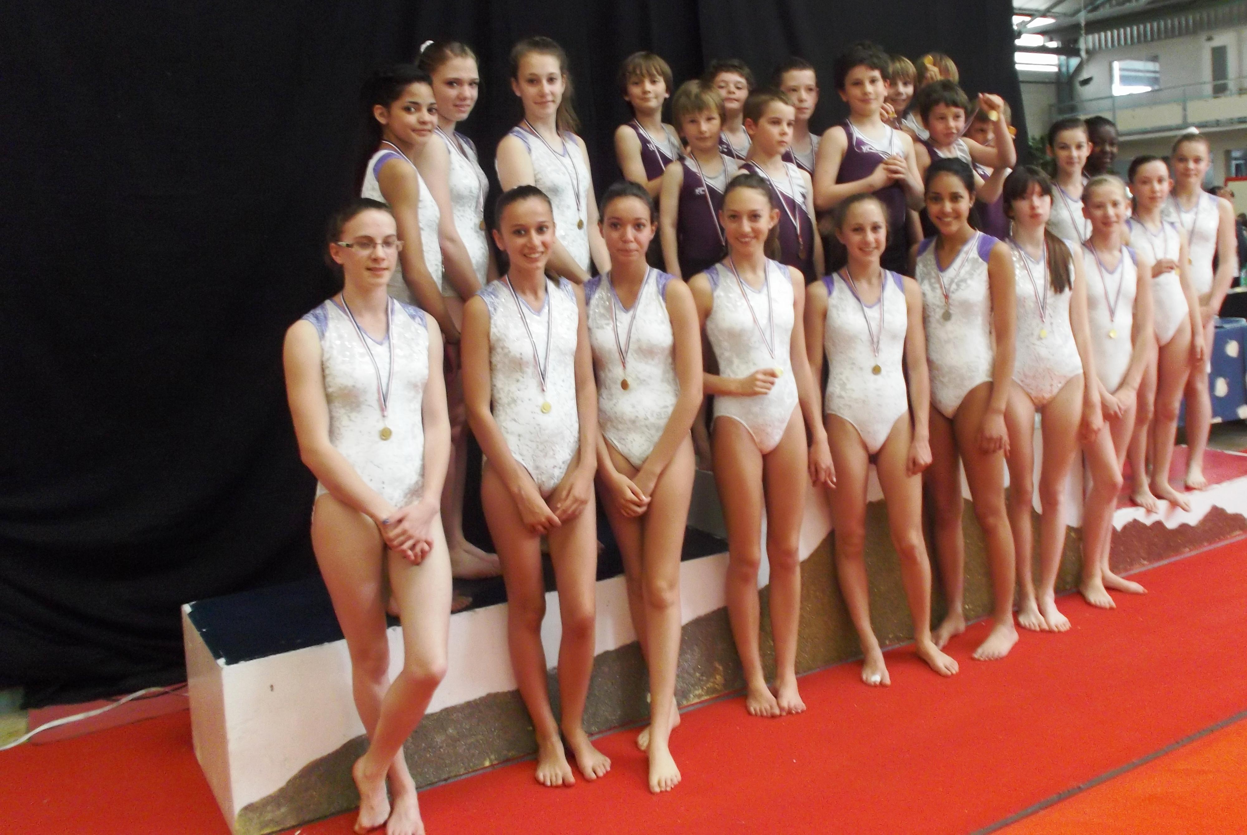 Gymnastique Artistique Féminine - Championnat Départemental à Aix les Bains