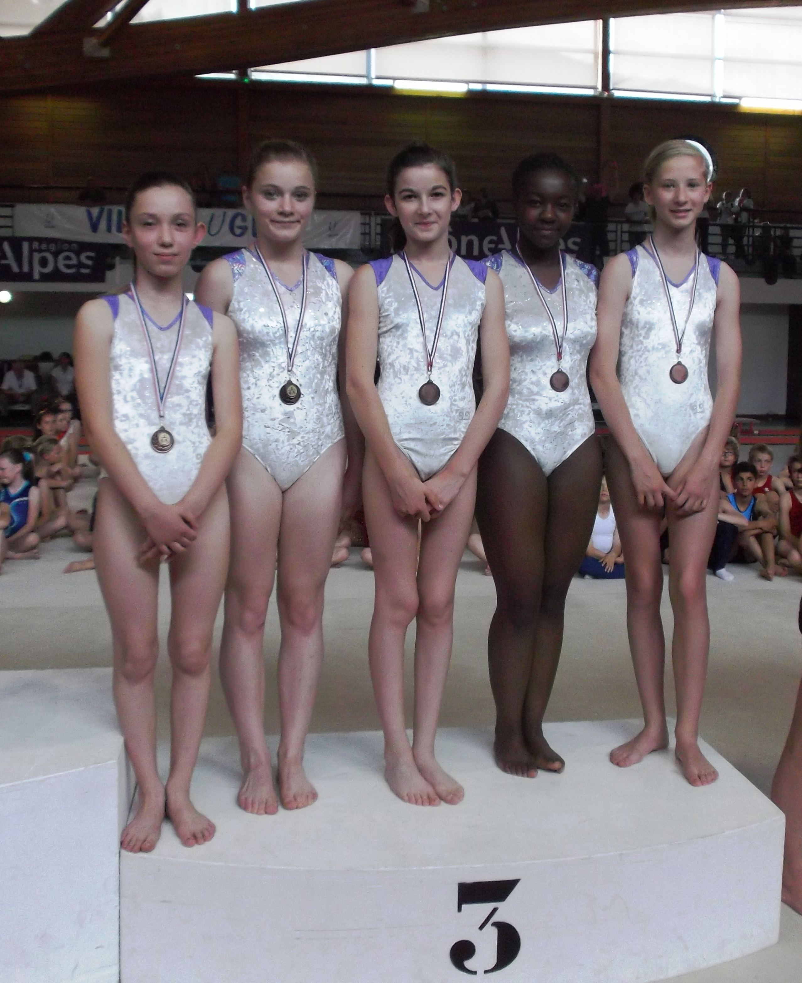 l'équipe FESTI GYM B B/M en bronze également!