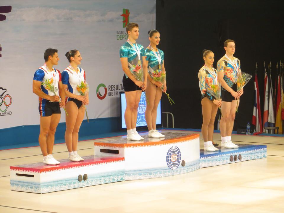 aurelie et benjamin, encore un podium mondial!