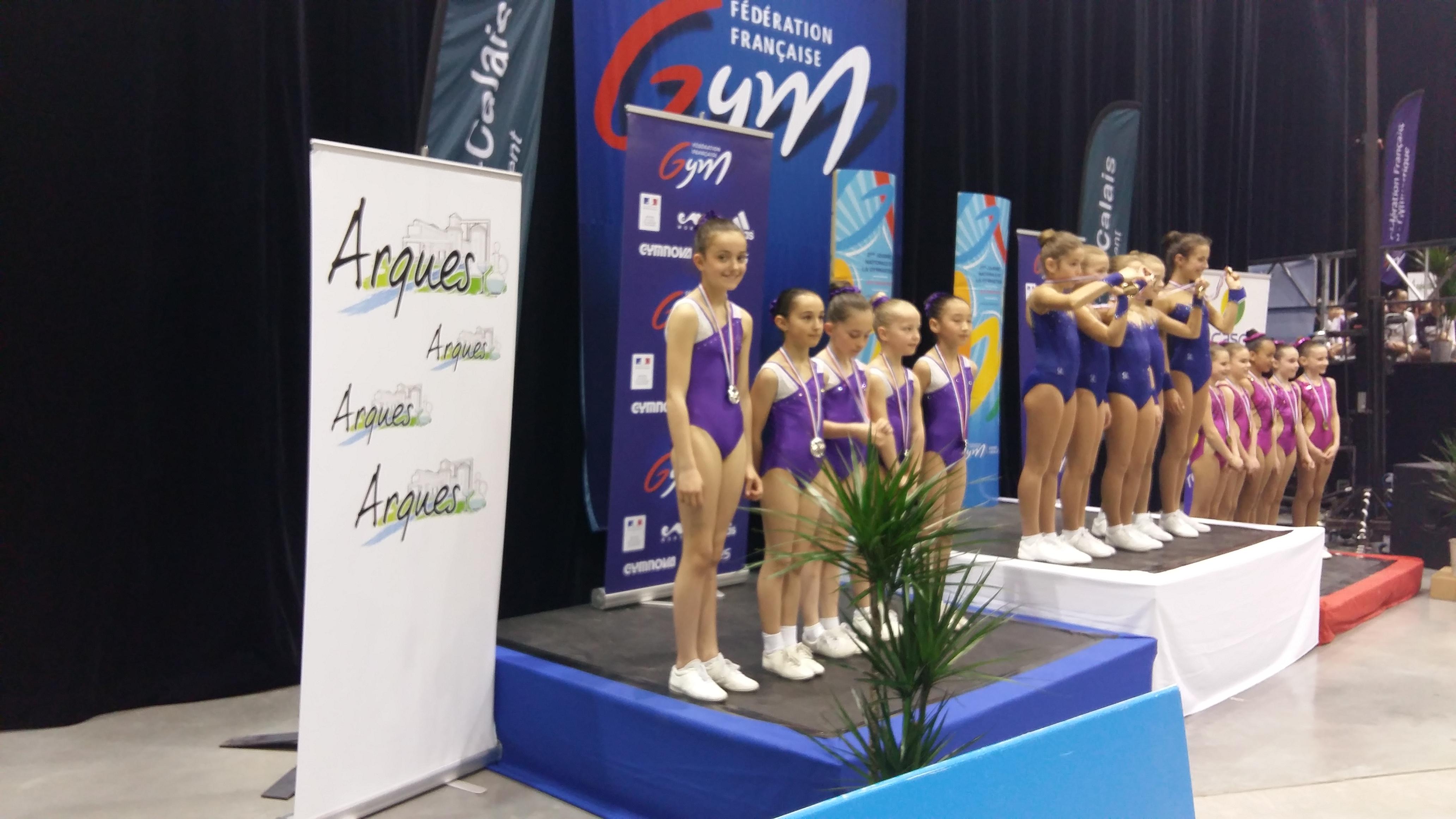 les petites vice championnes de France!