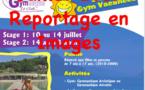 Stage Gym Vacances - Juillet 2017 (Reportage)