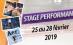 Stage Performance : Inscription